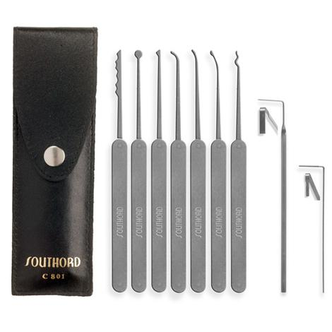 SO-C801 – SouthOrd – Nine Piece Slim Line Lock Pick Set – C801 – 0.jpg